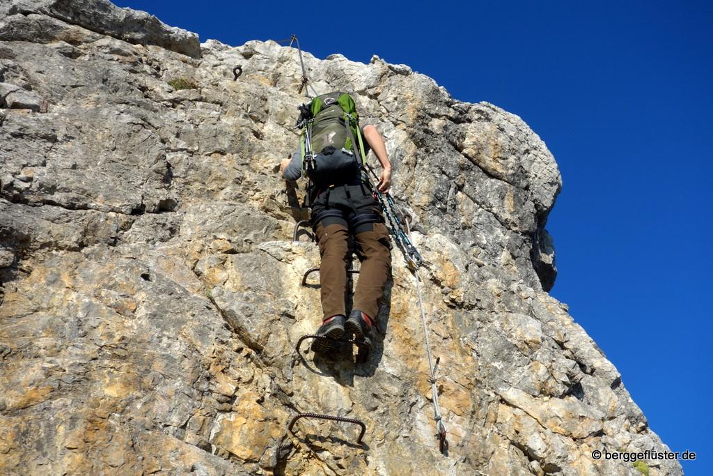 Klettersteig Mindelheimer : Mindelheimer klettersteig u berggeflüster